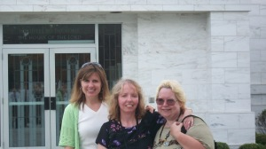 My dear sisters, Kimberly and Sandy two months before I began my journey.