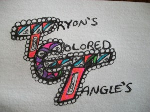 Tryon's  Colored Tangle's Logo