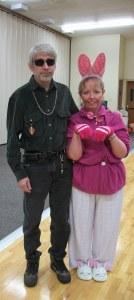 Last year's Halloween costume!