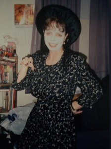 Halloween BEFORE picture! I wore this costume every year for 10 year's prior to my diagnosis.